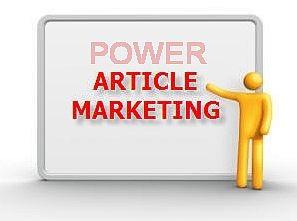 Article Marketing Power